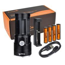 CrazyFire 10000 Lumens Powerful LED Flashlight 11 CREE XM-L