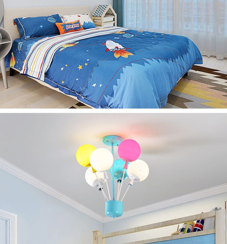 H1dbeb081717149488c048d4265aca578O Ceiling light Childrens room living room restaurant dining room decorative lights for home kids simple Modern led ceiling lamp