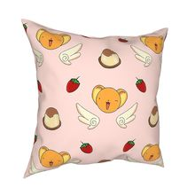 Pillow-Cover Kero Cardcaptor Sofa Home-Decorative Double-Sided-Printing for Polyester