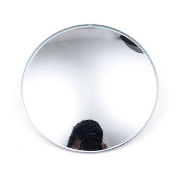 Samochodowe lusterko wsteczne HD bez obramowania małe okrągłe szkło lustrzane 360 stopni regulowane lustro martwego punktu tanie i dobre opinie Cimiva CN (pochodzenie) 5cmcmcmcmcm 2019 QP4567701-3 1 8cmcmcmcmcm Glass Lustro i pokrowce Glass rimless small round mirror