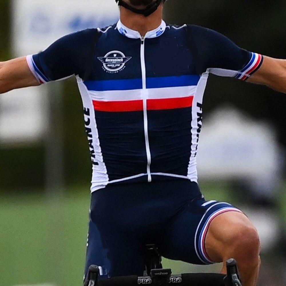 2020 frança equipe nacional conjunto camisa de ciclismo campeão do mundo ciclismo roupas passo rápido estrada corrida bicicleta terno bib shorts maillot