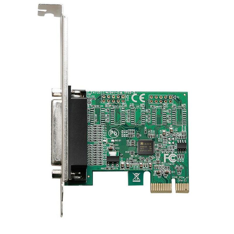 Great-Q  Enhanced Version  PCI-E PCI Express Parallel  DB25 25Pin Printer LPT  Pci-e Riser Card With AX99100 Chipest