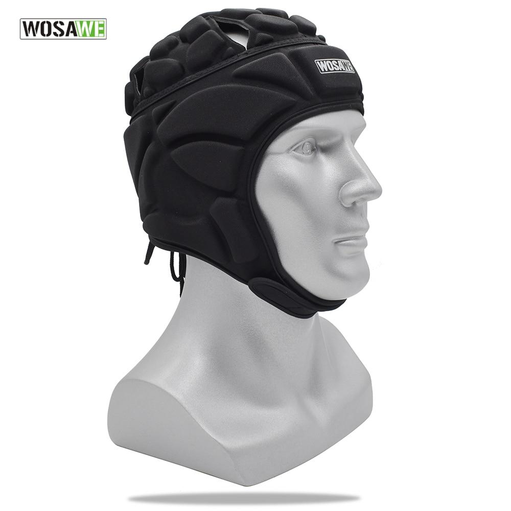Goalkeeper Helmet Football Soccer Protective Gear Men Women Sports Rugby Ice Hockey Guard Goalie Hat Head Protector