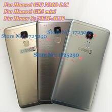סוללה דלת שיכון אחורי כיסוי עבור Huawei GT3 NMO L31 GR5 מיני NEM L31 L21 NEM L31 NEM L21 כבוד 7 לייט כבוד 5C AL10 UL10
