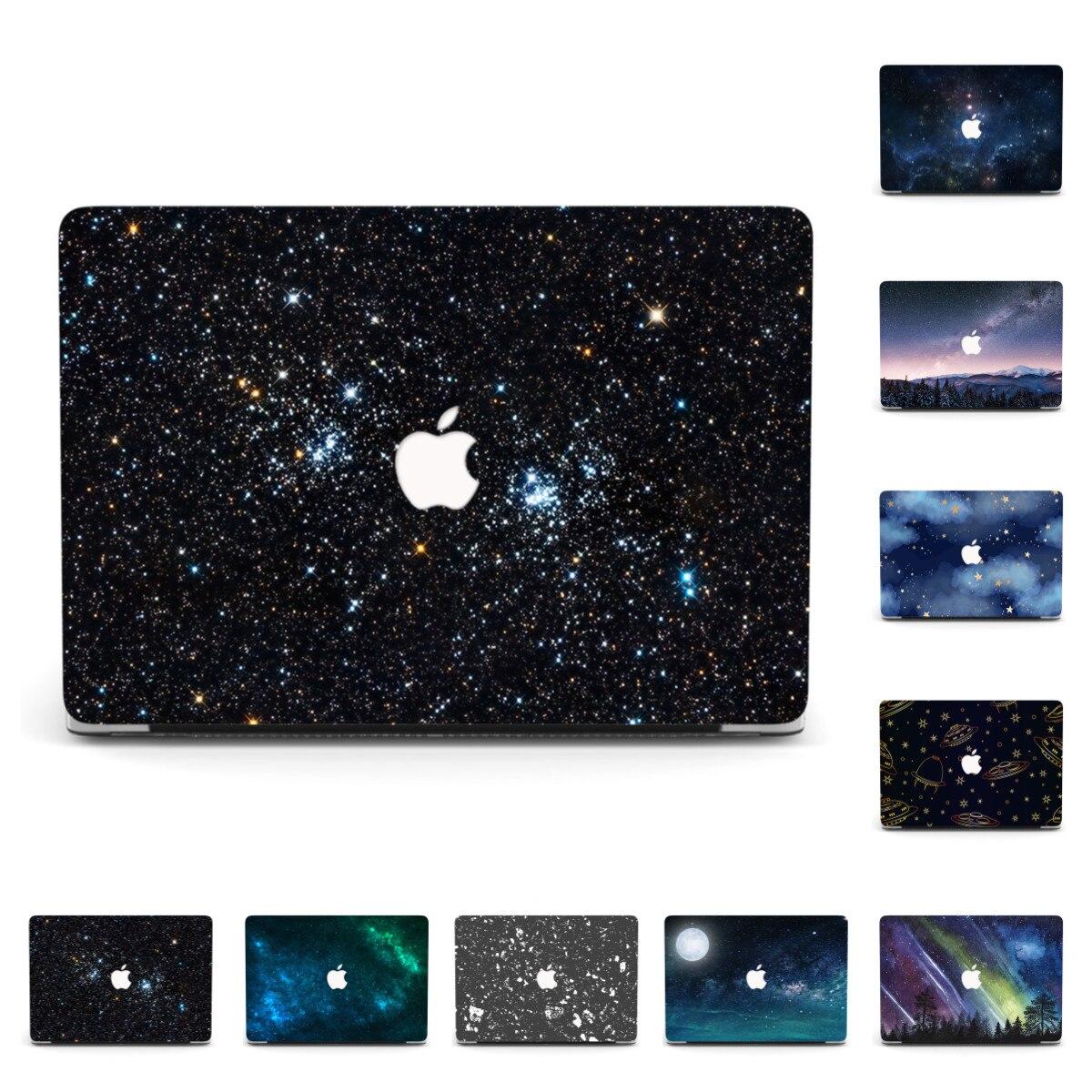 Casca dura caso do portátil para macbook air pro 13 polegada a1706 a1989 a2159 novo ar a1932 a2179 2020 pro a2289 a2251 pro 13 a1708 capa|Bolsas e estojos p/ laptop|   -