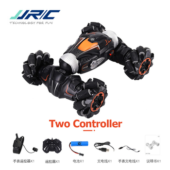 JJRC Q78 4WD Stunt RC Car Gesture Induction Twisting Off-Road Light Music Drift High Speed Climbing Vehicle Toys for Children