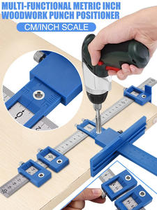 Hand-Tool Drill-Punch-Locator Drilling Hole-Saw Furniture Multi-Function Joinery Woodworking