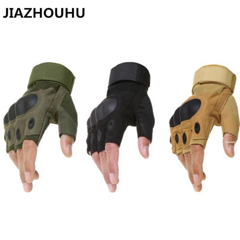 Новинка 2020, тактические перчатки без пальцев, военные армейские перчатки для стрельбы, пешего туризма, охоты, скалолазания, велоспорта, трен...