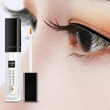 SENANA Vitamin E Eyelash Growth Serum EGF Eyelash Enhancer Longer Fuller Thicker Lashes Eyelashes Eyebrows Enhancer Eye Care 7Ml цена и фото