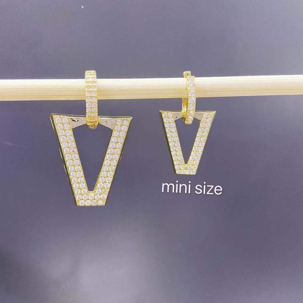 Mini zircon gold