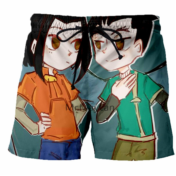 Casual Shorts Beach-Pants Quick-Drying Men's Fashion Summer Brand New Multicolor 3D New-Product