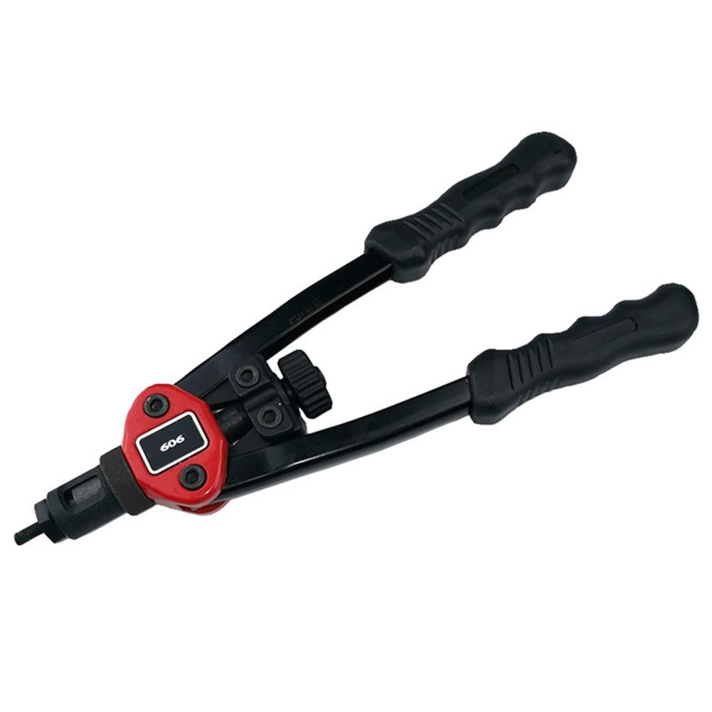 Rivet Nut Guns Auto Riveter Tool Hand Insert Rivet Nut Tool Manual Mandrel M3 M4 M5 M6 M8 M10 Tools Kit Riveter Nut Tool New