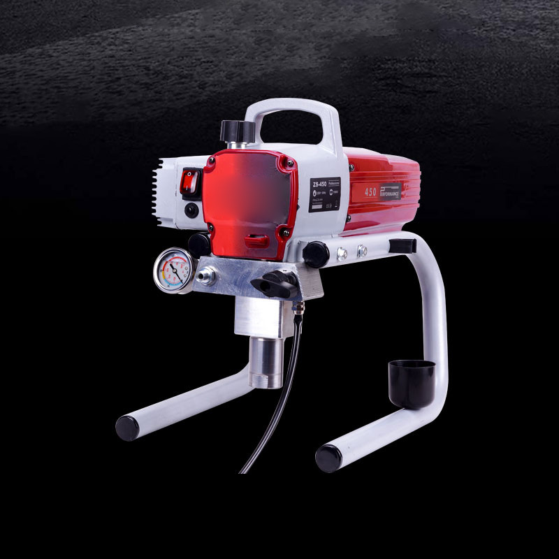 High Airless New Professional Tool Pressure Paint Airless Gun Machine Painting Spraying 450 Machine Airless Spray Sprayer