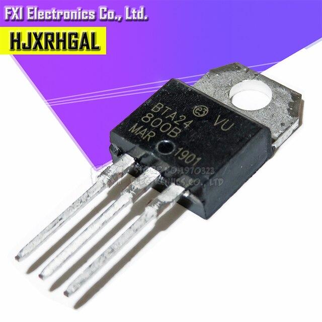 10PCS BTA24 800B BTA24 800 TO 220 TO220 BTA24 New original