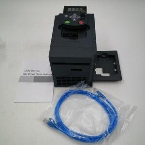 Image 5 - VFD 380V 4KW AC 380V 1.5kW/2.2KW/4KW/5.5KW/7.5KW napęd o zmiennej częstotliwości 3 fazy falownik do kontroli prędkości silnika falownik VFD