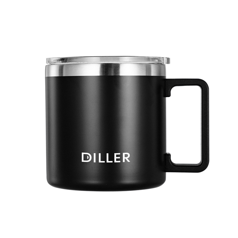 DILLER MLH8770 Thermos Double Layer 304L Stainless Steel Thermos Thermos Cup Coffee Tea Milk Travel Cup Large Capacity Kettle