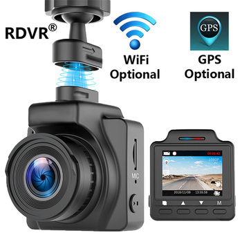 RDVR Magnetic Dash Cam 1.5 Mini Car DVR Camera WiFi GPS Full HD 1080P Video Registrator Recorder dashcam G-sensor Night Vision image