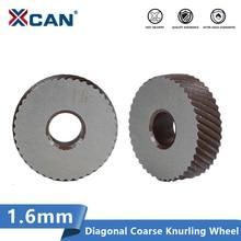 XCAN HSS Anti Slip Diagonal Coarse Knurling Wheel 2pcs 1.6mm