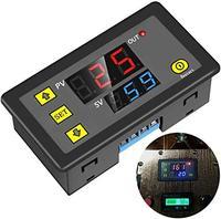 타이머 릴레이 dc 12 v 20a 프로그래밍 가능한 디지털 시간 사이클 지연 스위치 모듈 1500 w 220 v 110 v on-off 제어 0-999 초 분 시간