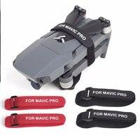 2 pçs hélice lâmina de montagem para dji mavic pro platina mavic 2 pro zoom zangão fita mágica cintas laço laços de proteção acessório|Kits de acessórios p/ drone| |  -