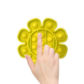 Push Bubble Fidget zabawka sensoryczna autyzm specjalne potrzeby stres stres i zwiększenie ostrości zabawki edukacyjne miękkie wycisnąć zabawkę tanie i dobre opinie AUKUK CN (pochodzenie) Bubble Fidget Sensory Toy Educational Toys Stress Reliever Toys Push Bubble Fidget Sensory Toy