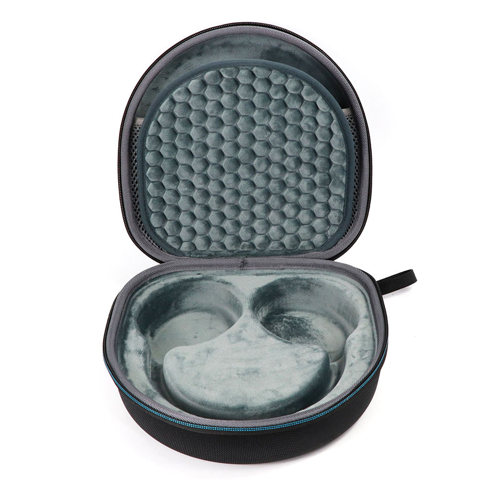 Hard Shockproof Travel Protable Anti Scratch Round Headphones Case Protective EVA Durable Carrying Organizer For Sony WH CH700N