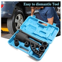 7PCS Torque Multiplier Wrench Lug Nut Lugnuts Remover Labor Saving Socket Car Wash Maintenance Engine Care Tire Tools Kit
