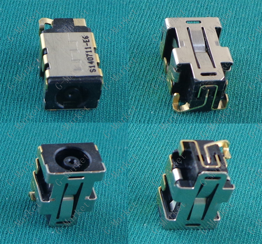 1PCS DC Power Jack for <font><b>HP</b></font> EliteBook 725 <font><b>820</b></font> 840 850 <font><b>G3</b></font> 725G3 820G3 840G3 850G3 DC Connector Laptop Socket Power Replacement image
