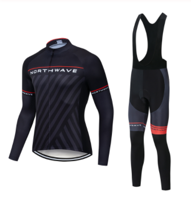2019 NW Spring Breathable Cycling Jersey Set MTB Bicycle Clothing Maillot Ropa Ciclismo Long Sleeve Bike Clothes Cycling Set|Cycling Sets| |  - title=
