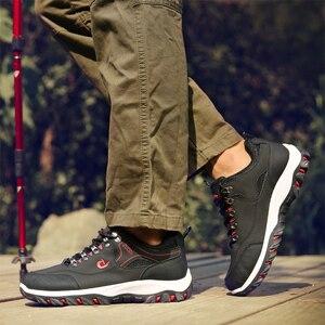Image 5 - 2020 לנשימה נעלי הליכה גברים הליכה סניקרס חיצוני החלקה טיפוס טרקים ספורט הנעלה KITLELER Zapatillas Hombre