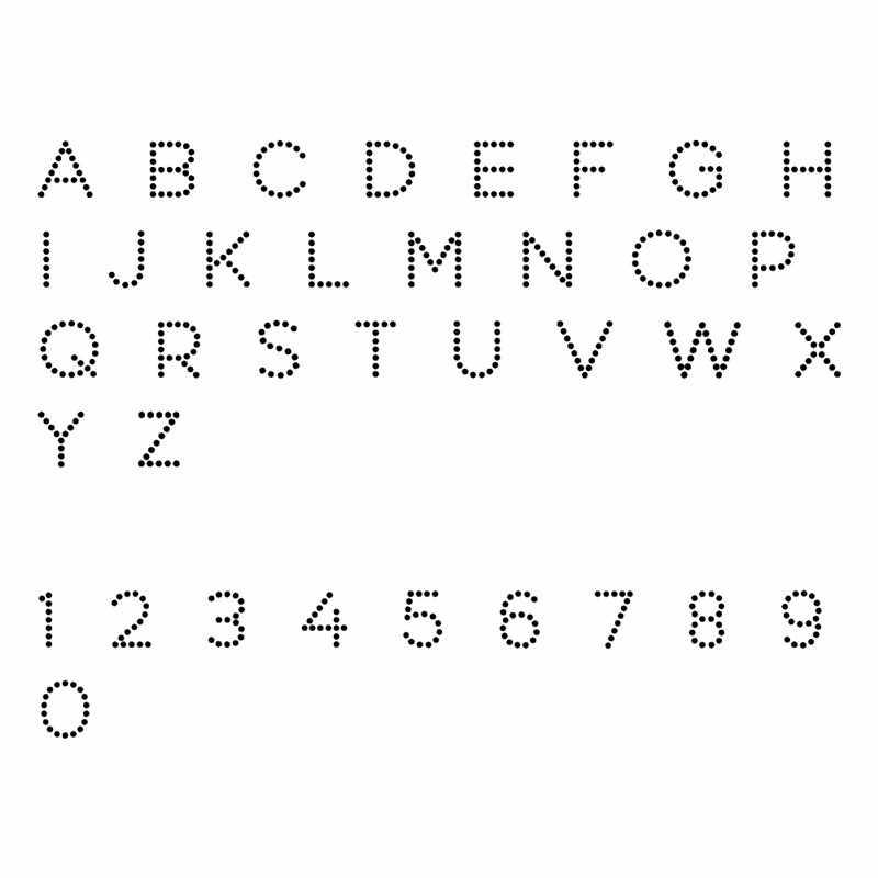 Yaminsannio 26 Alphabet Mati A-Z Huruf Metal Cutting Dies Baru untuk Pembuatan Kartu Scrapbooking Embossing Die Cut Stensil Kerajinan Mati
