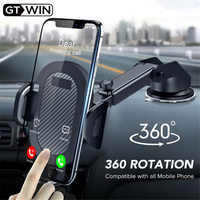 GTWIN pare-brise gravité ventouse voiture Support pour téléphone pour iPhone Samsung Huawei Support universel Support Mobile Support Smartphone