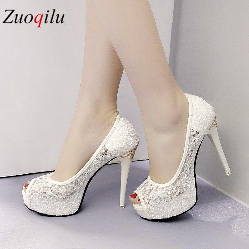ladies high heels platform open toes