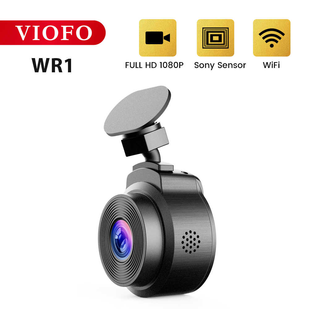 VIOFO WR1 Wifi Táp Lô Xe Ô Tô Camera DVR Full HD 1080P Novatek Chip Góc 160 Độ Với Cycled Ghi Âm GẠCH NGANG Đầu Ghi Hình Camera