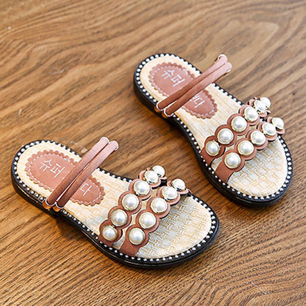 2020 Baby Girls Sandals Kawaii Pink
