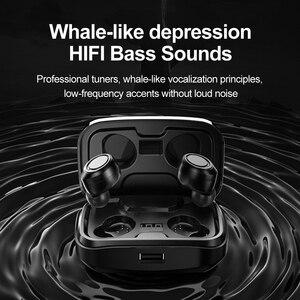 Image 2 - McGeSin 2020 Auriculares inalámbricos Bluetooth nuevos auriculares TWS auriculares estéreo 9D auriculares de música IPX7 impermeables con 3500mAh for iphone Xiaomi Huawei Samsung