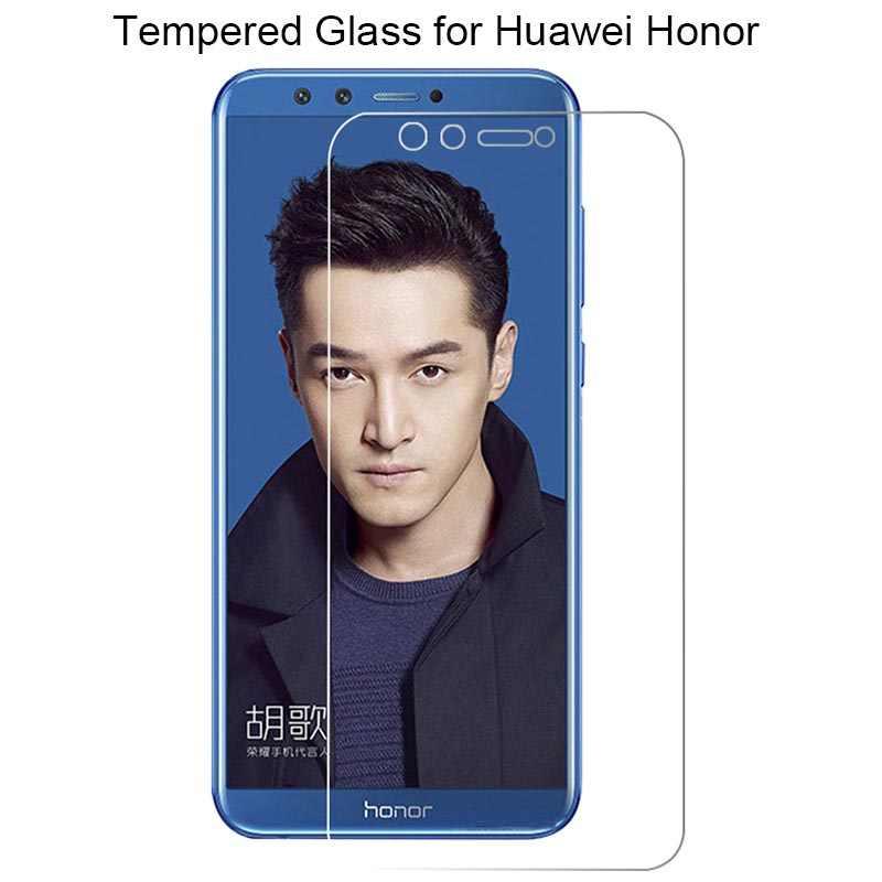 מסך מגן זכוכית עבור Huawei כבוד 7 8 פרו 7S מזג זכוכית לכבוד 10 לייט V9 ולהציג מחזה 10 זכוכית על כבוד 9 לייט אור