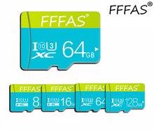 Com cartão de memória livre 128gb 64gb 32gb carte sd 16gb 8gb sdxc sdhc micro sd cartão de memória para o telefone