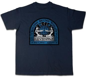 Parche de Alianza Uscss, camiseta Ripley Prometheus Nostromo Weyland Alien Ship, camiseta...
