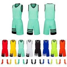 Баскетбольная одежда для мужчин и женщин, впитывающая пот дышащая и быстросохнущая детская одежда для взрослых, может быть настроена по индивидуальному заказу
