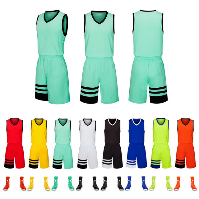 Basketball Clothing Suit Men And Women Sweat-absorbent Breathable And Quick-drying Adult Children's Clothing, Can Be Customized.