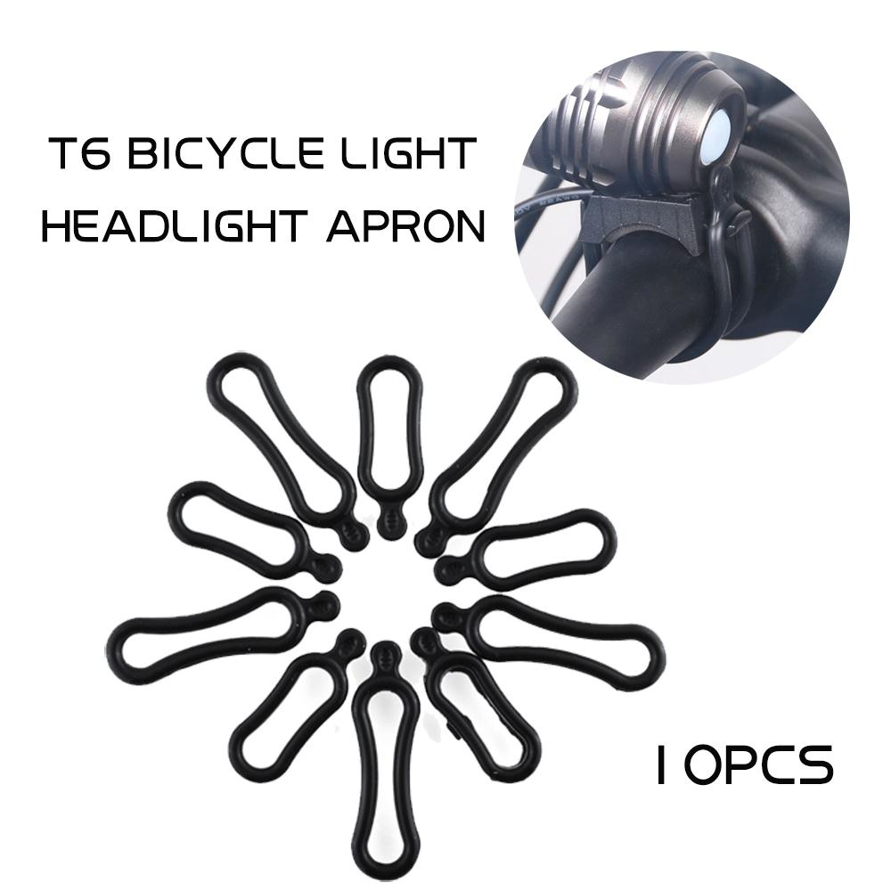 10pcs 5 Pair Rubber Rings For Q5 T6 LED Headlight Headlamp Torch Bicycle Us
