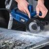 1050W Electric Circular Saw Fast Cutting Wood Metal Marble Tiles,230V Mini Electric Saw Dual Blade Metal Cutting Machine 2
