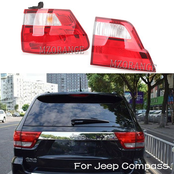 MZORANGE Inner/Outer Tail Light for Jeep Compass Grand Cherokee 2011 2012 Tail Brake Lamp Tail Assembly Rear Light Car Styling