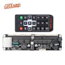 Ghxamp 6 dígitos universal brilho nixie tubos de relógio controle placa-mãe max1771 controle remoto in12 in14 in18 QS30-1 áudio em casa diy