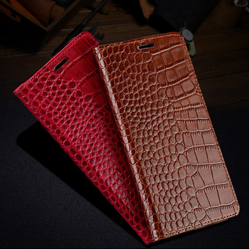 LANGSIDI Magnetic flip phone case For XIAOMI Redmi note 9s flip Capa k30 k20 Pro note 7 8T Genuine leather kickstand book fundas
