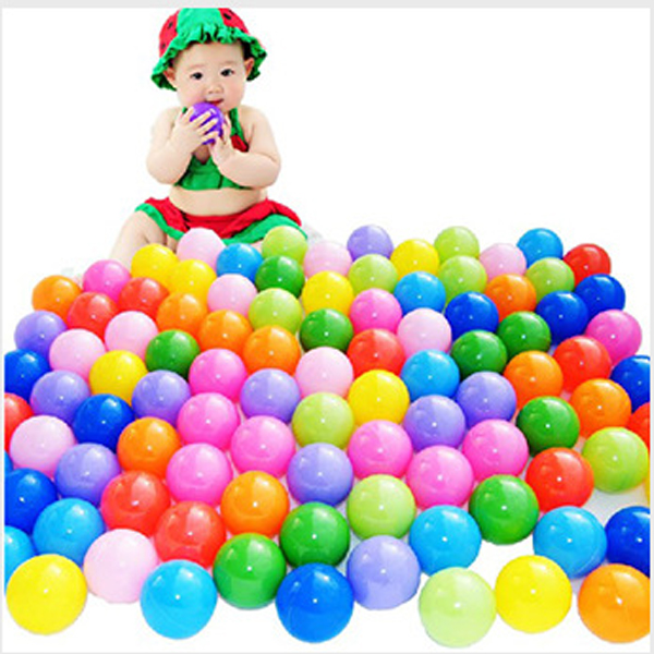 Colorful Ball Ocean Balls Soft Plastic Ocean Ball Baby Kid Swim Pit Toy High Quality