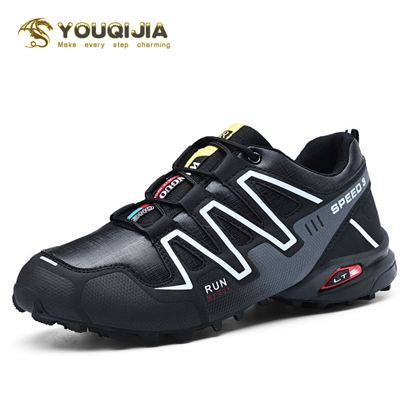 Leisure Series Hiking Sport Shoes Casual Shoes Men Breathable Jogging Outdoor Mountaineer Climbing Sneakers Non-slip Camping