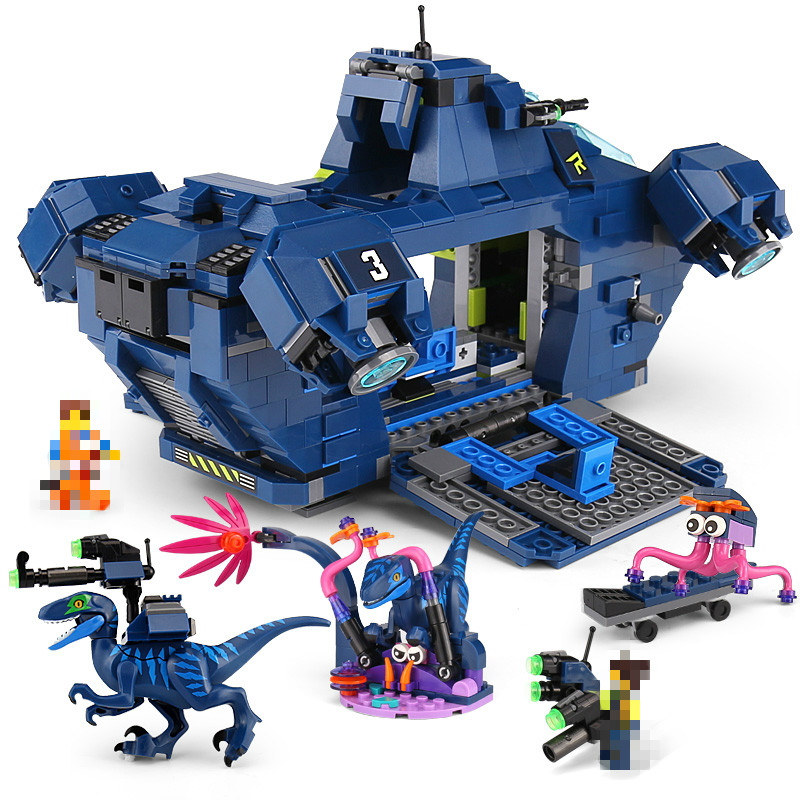 45012 New 2019 Movie 2 Series Rex's Rexplorer Building Blocks Bricks Child  Toys Birthdays Gifts DIY Compatible Movie 70835