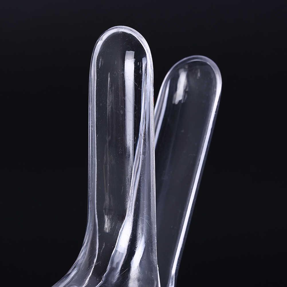 1 Pcs Bening Plastik Vagina Perangkat Ekspansi Dewasa Alat Kelamin Anal Vagina Dildo Kolposkopi Spekulum Medis Kesehatan Wanita